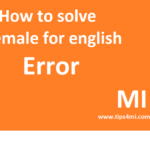 How To Fix or Remove Female For English/Chiness Download Notification In Redmi/Xiaomi
