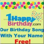 How To Create Birthday Song With Your Name