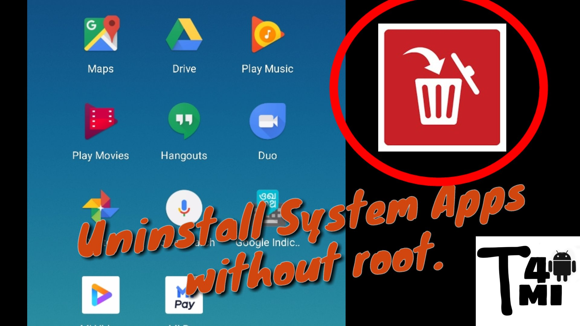 How To Uninstall System Apps Without Root